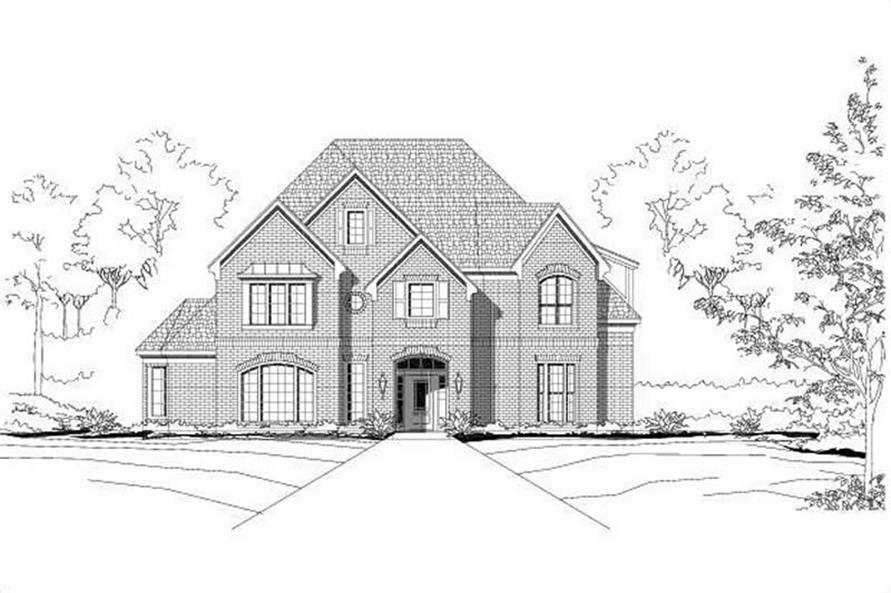 Main image for house plan # 15681