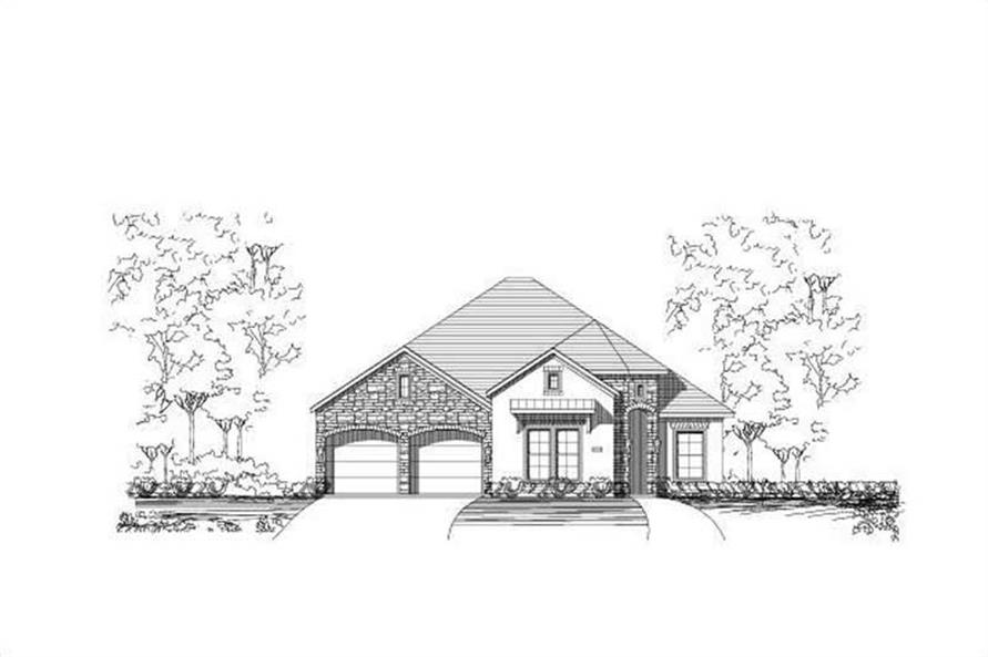 Main image for house plan # 15412
