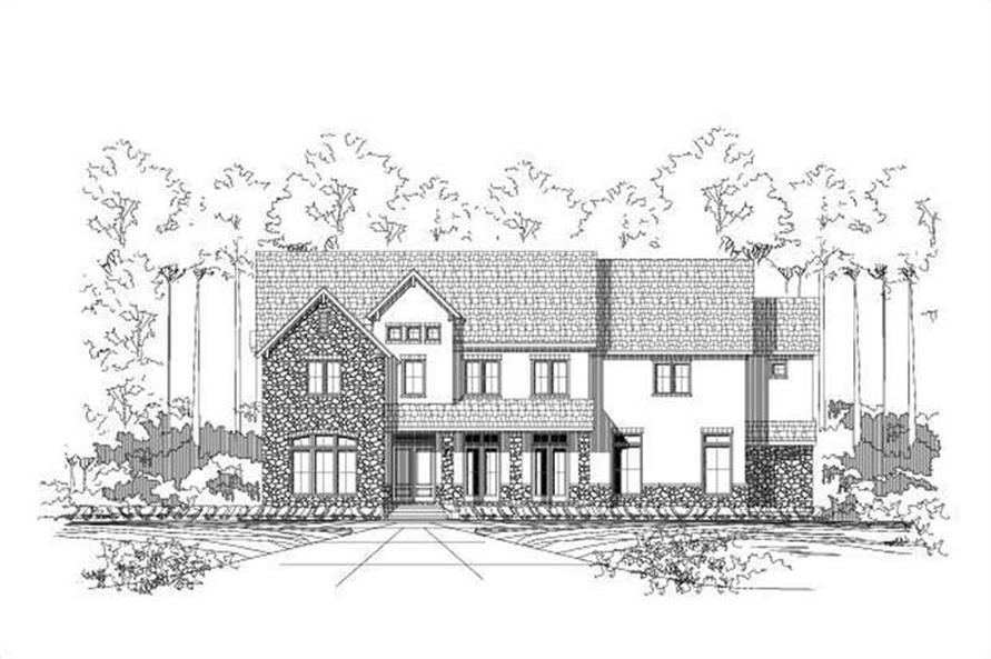 Main image for house plan # 15424