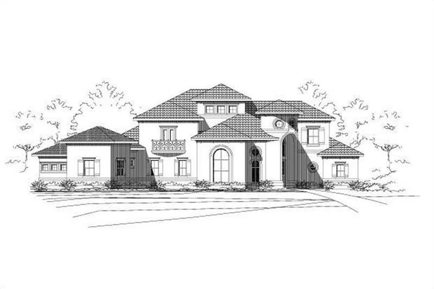 Main image for house plan # 15428
