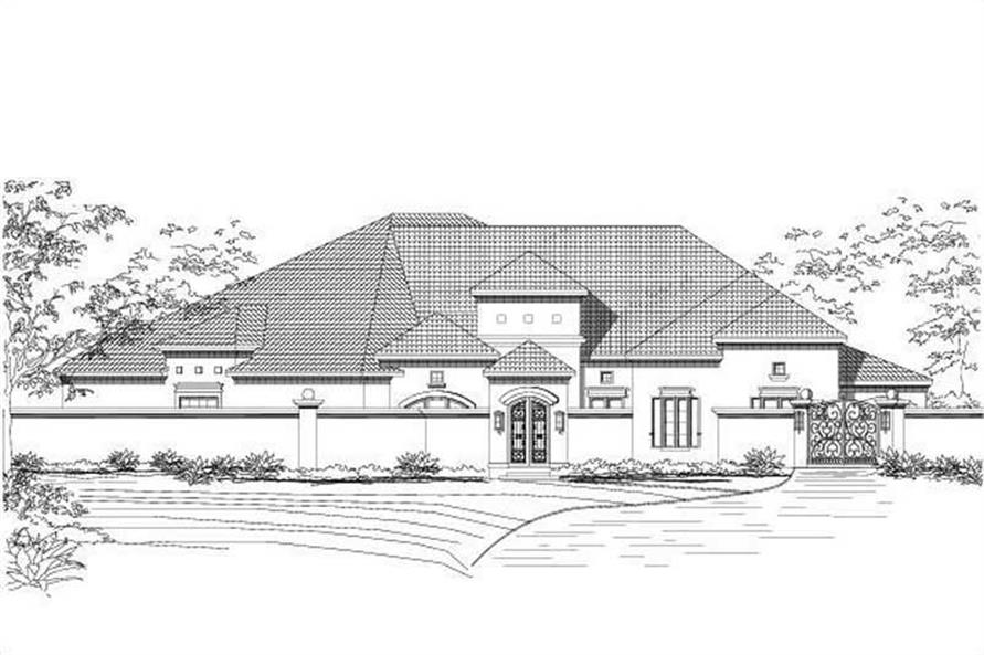 Main image for house plan # 15437