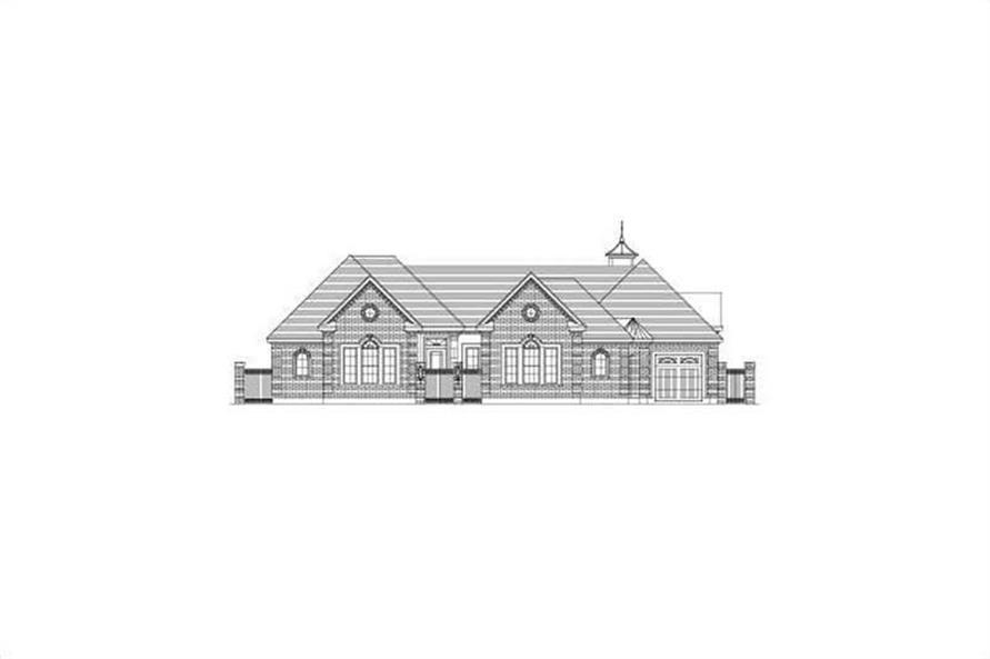 Main image for house plan # 15846