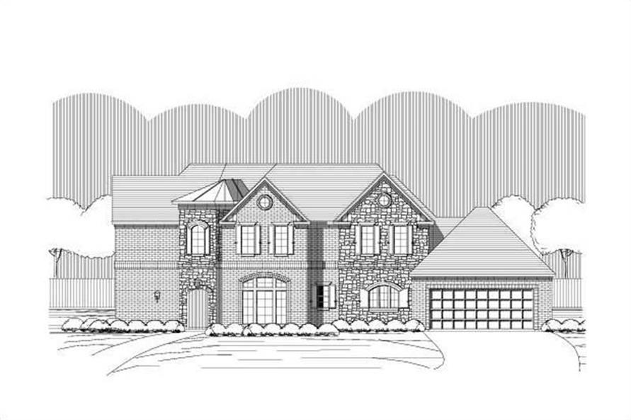 Main image for house plan # 19533