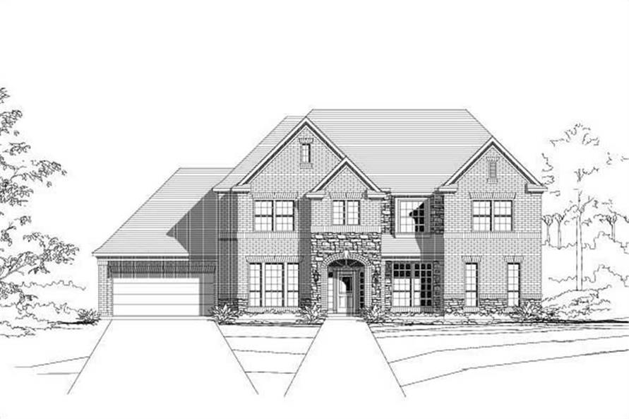 Main image for house plan # 15619