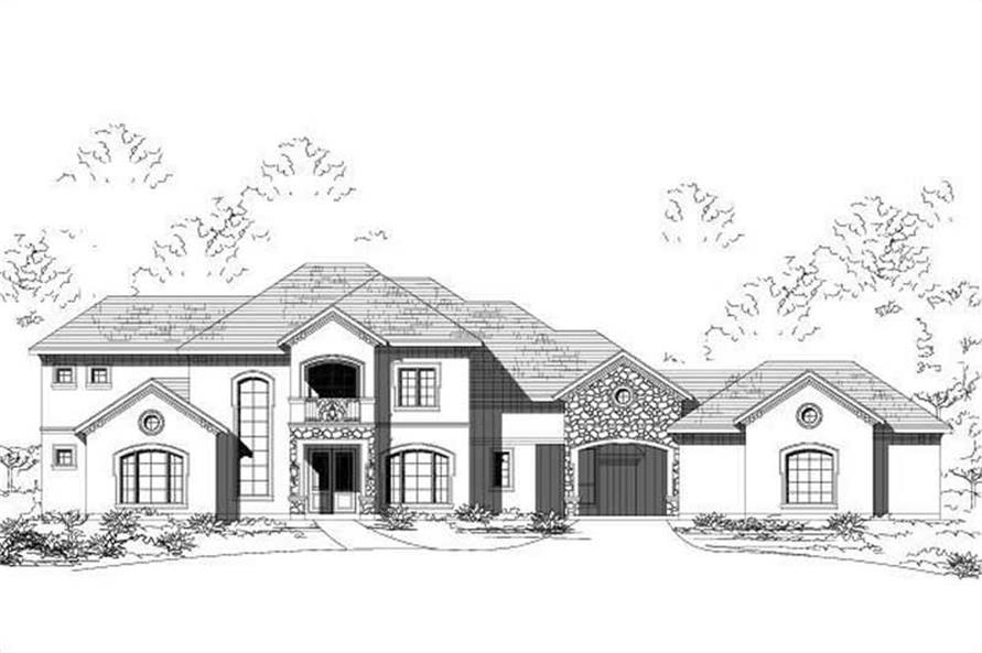 Main image for house plan # 15948