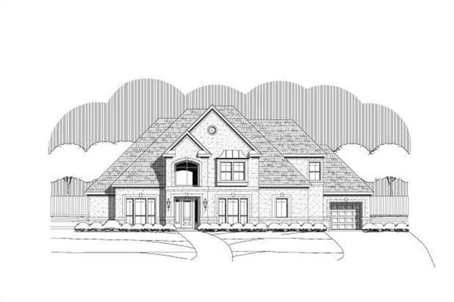 Main image for house plan # 15954
