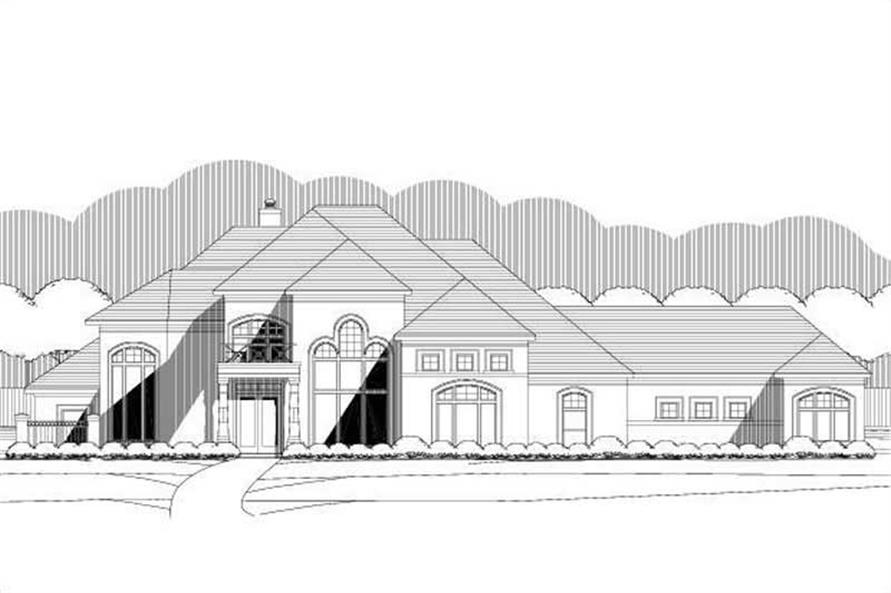 Main image for house plan # 15979