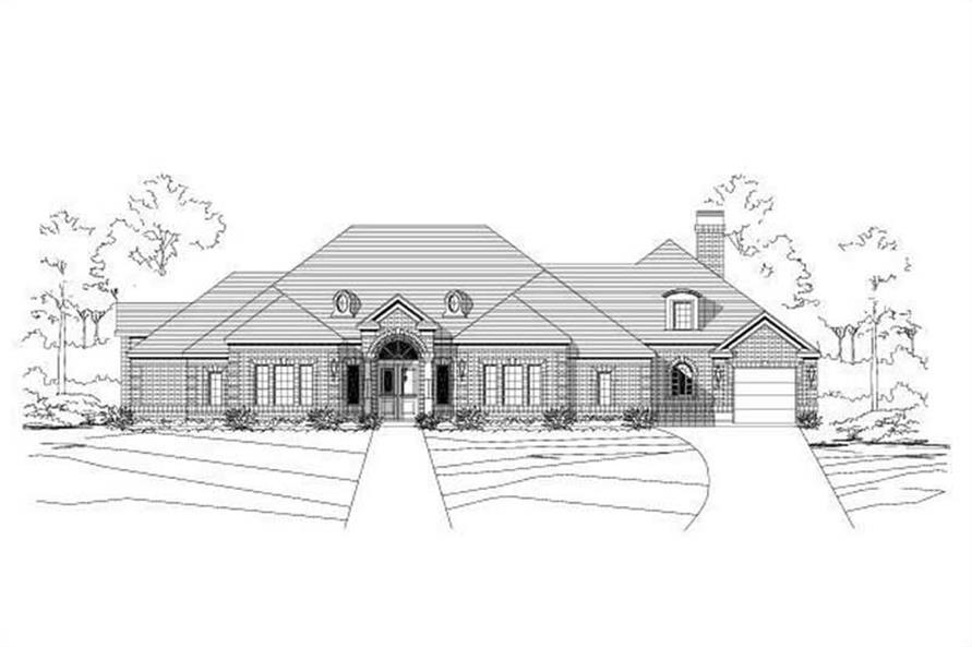 Main image for house plan # 14984