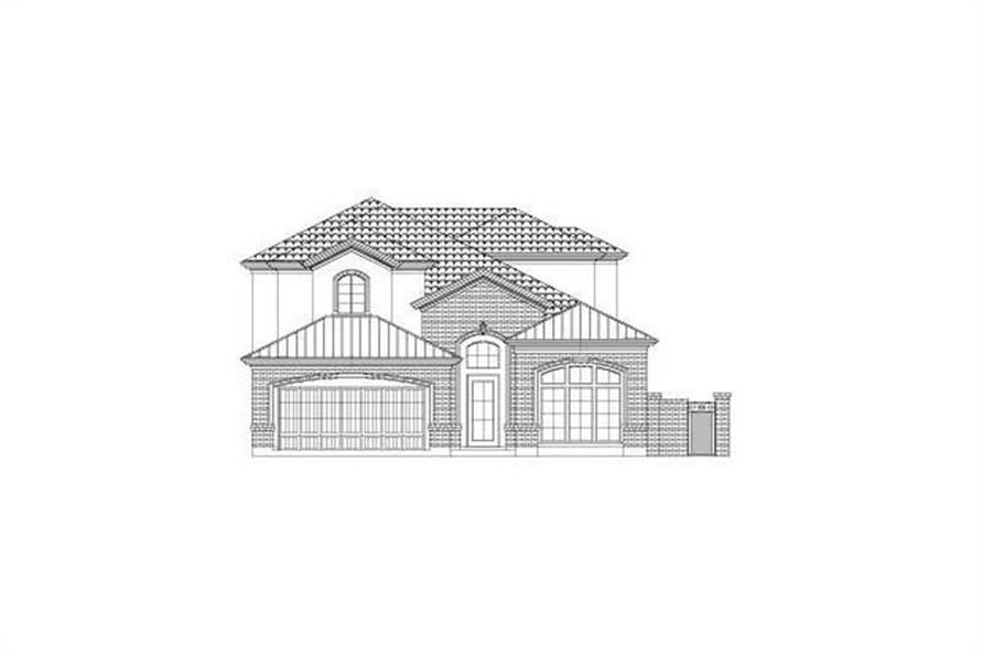 Main image for house plan # 15798