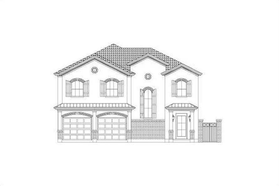 Main image for house plan # 15756