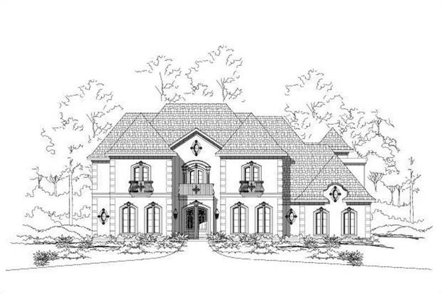 Main image for house plan # 15767