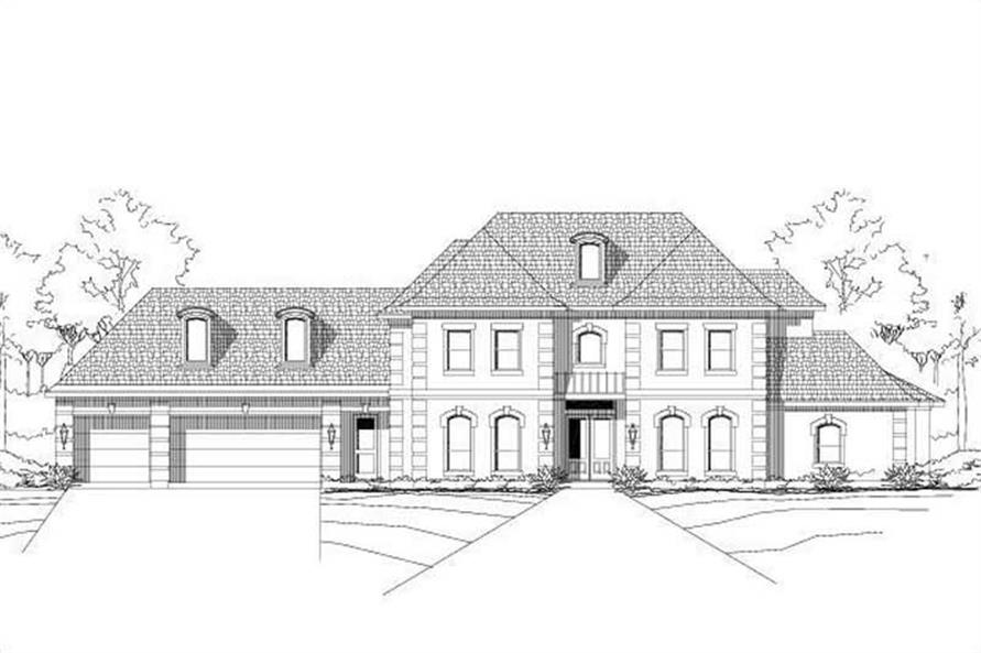 Main image for house plan # 15822