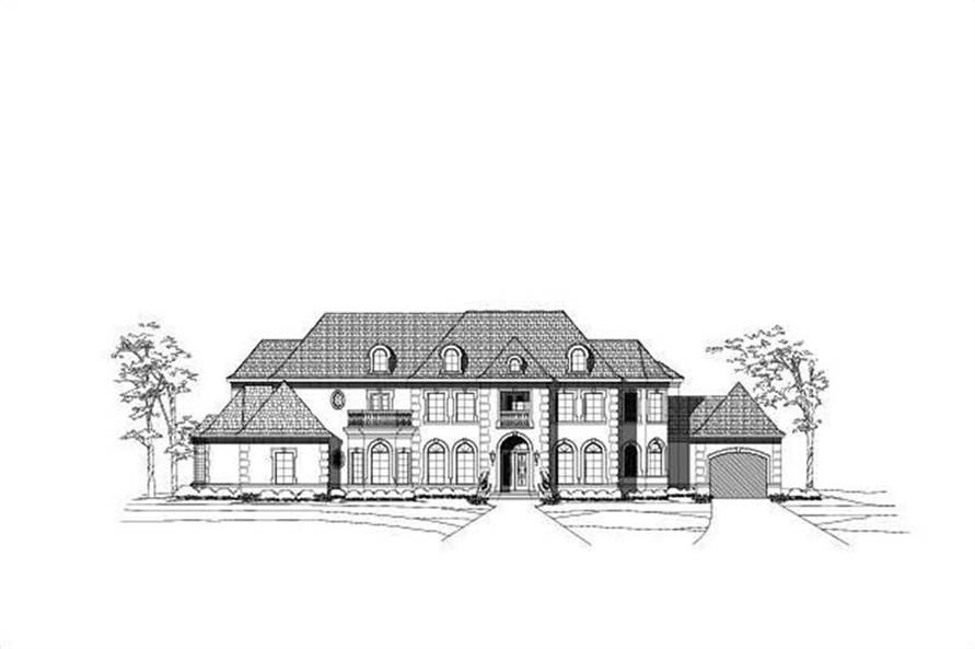 Main image for luxury house plans # 19733