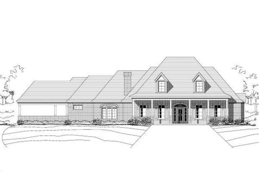 Main image for house plan # 15540