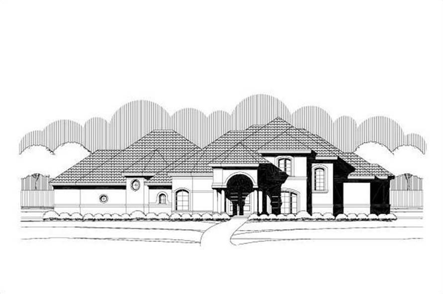 Main image for house plan # 19635
