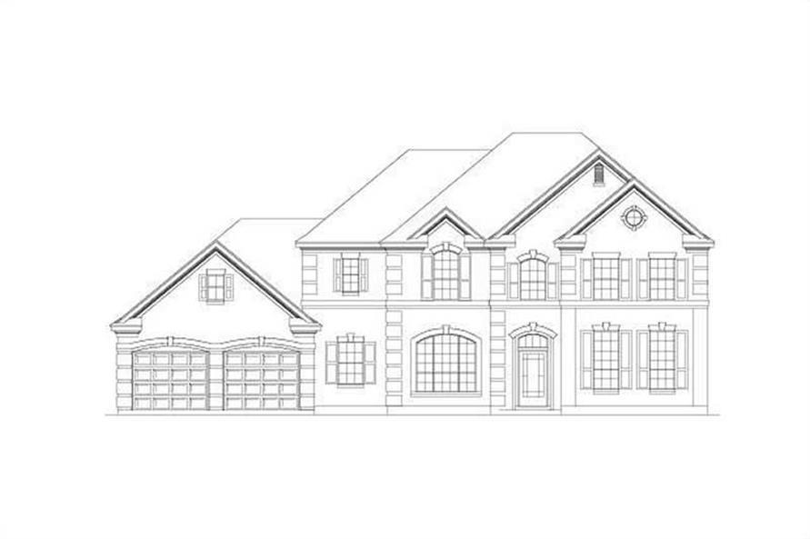 Main image for house plan # 15152