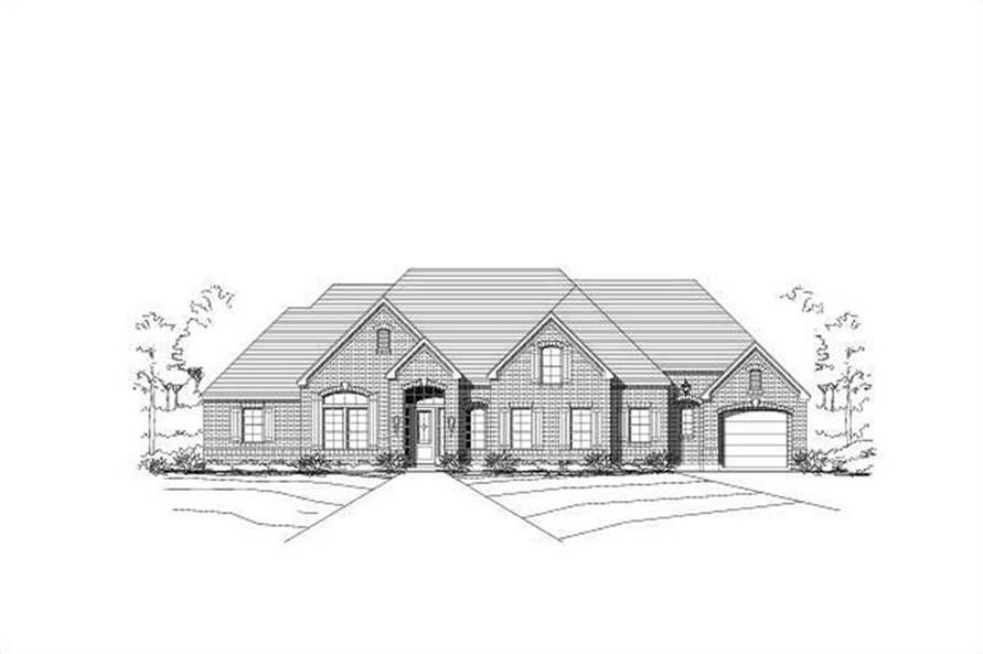 Main image for house plan # 19738