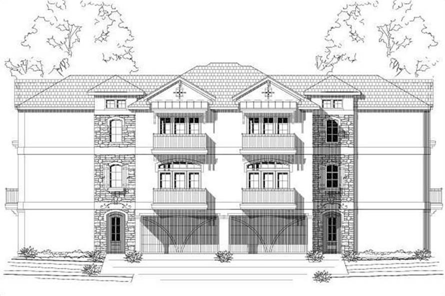 Main image for house plan # 19514