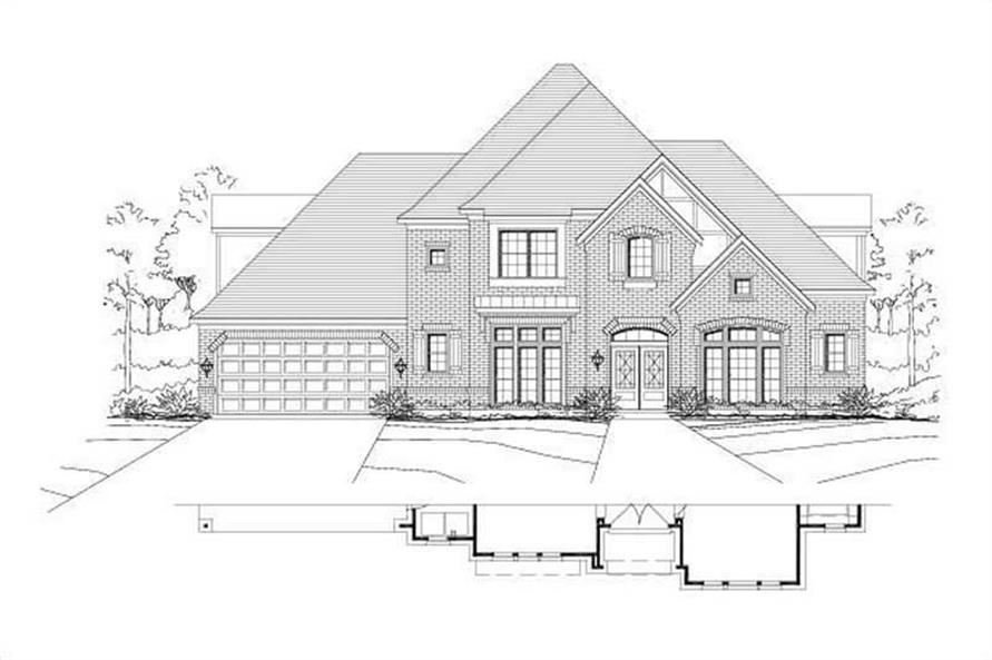 Main image for house plan # 15462