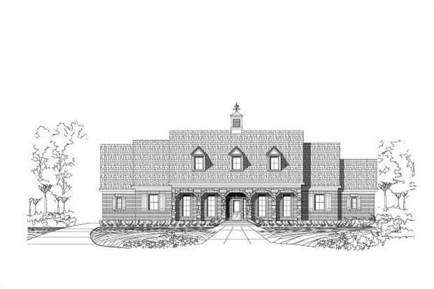 Main image for house plan # 15782