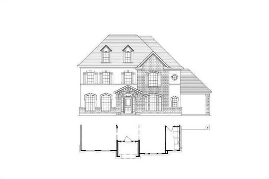 Main image for house plan # 15206