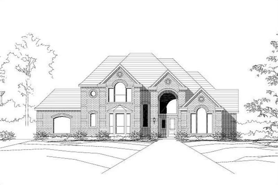 Main image for house plan # 15119