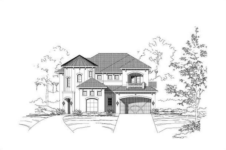 Main image for house plan # 15025