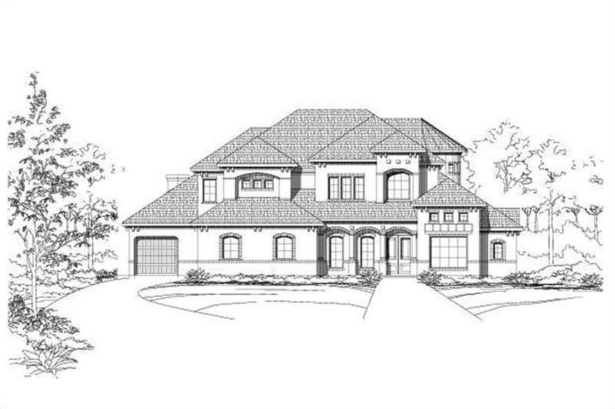 Main image for house plan # 15022