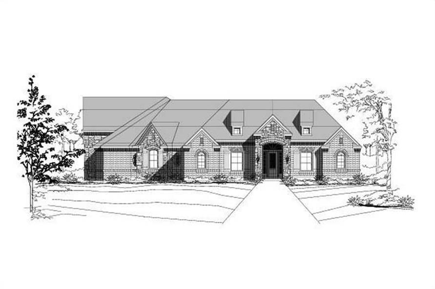 Main image for house plan # 15020