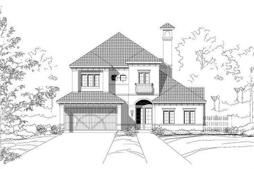 Main image for house plan # 15183