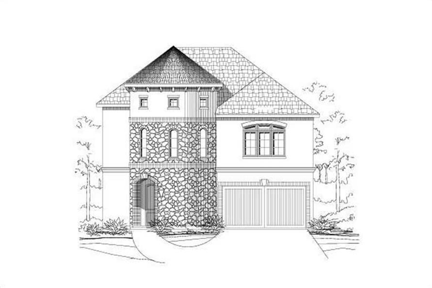 Main image for house plan # 15190