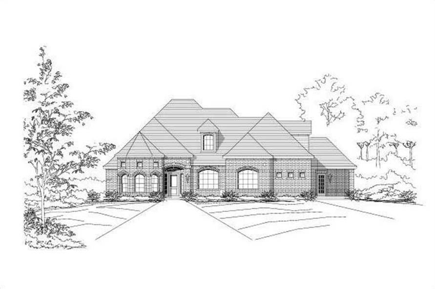 Main image for house plan # 15017