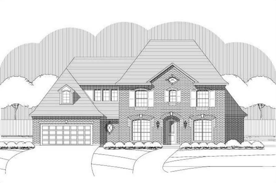Main image for house plan # 15221