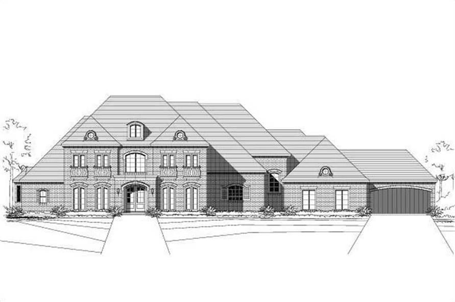 Main image for house plan # 15237