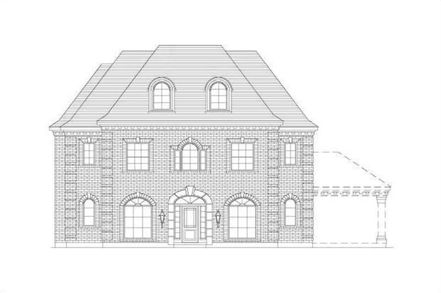 Main image for house plan # 15738