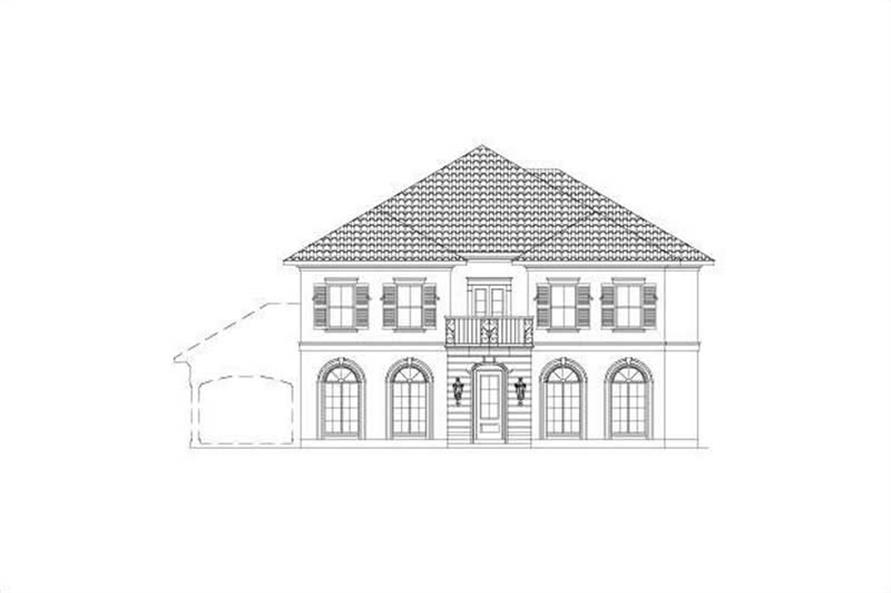 Main image for house plan # 15741