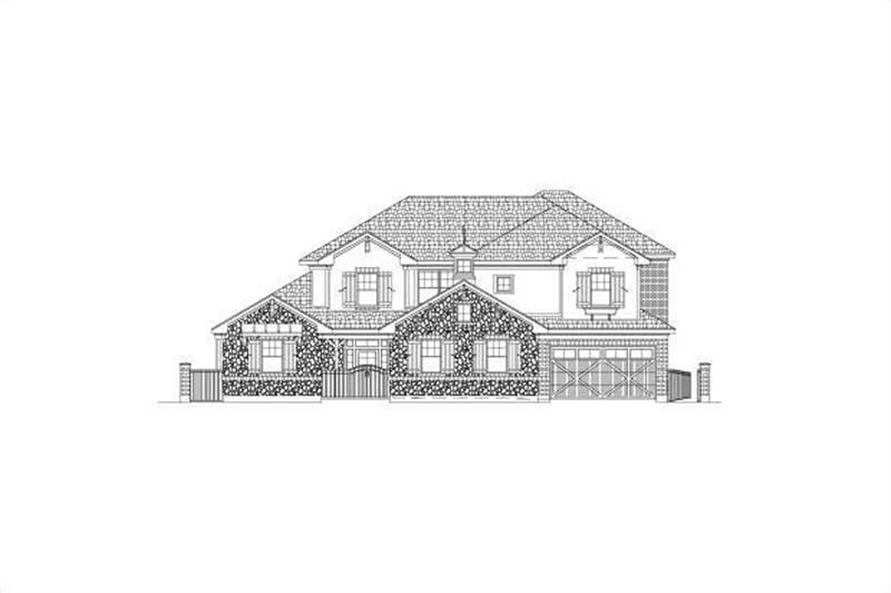 Main image for house plan # 15705