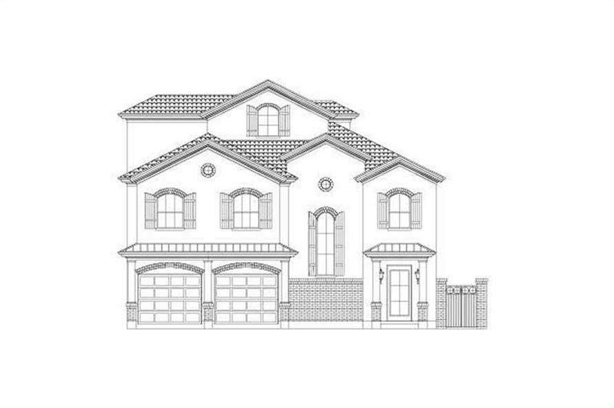 Main image for house plan # 15757