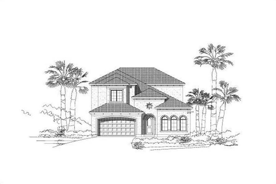 Main image for house plan # 15112