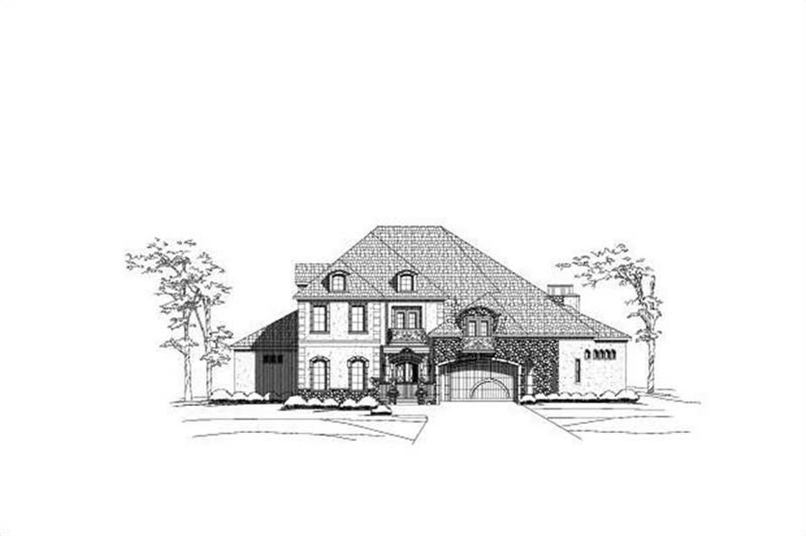 Main image for luxury house plan # 19658