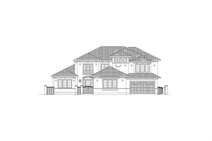 Main image for house plan # 15700