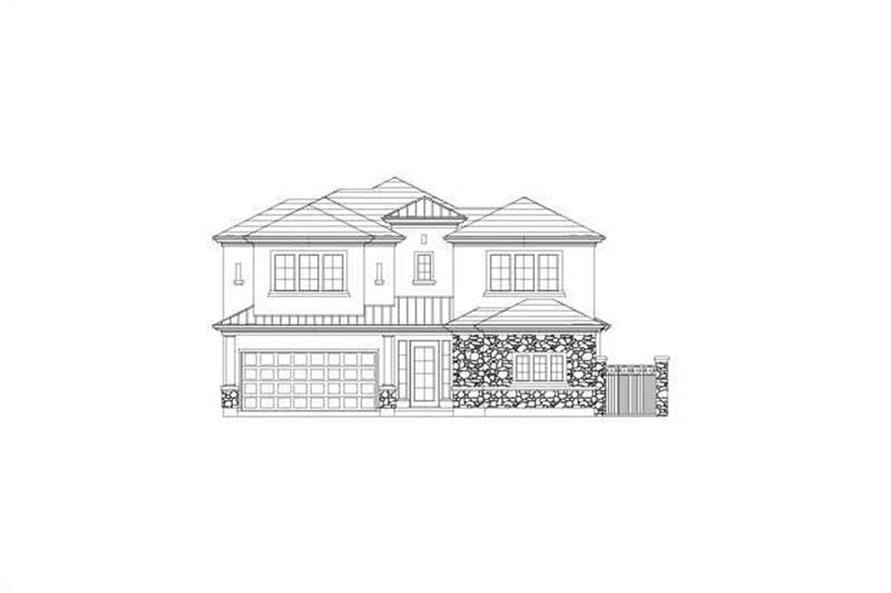 Main image for house plan # 15747
