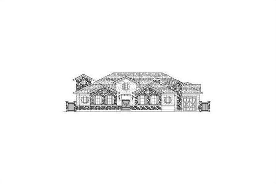 Main image for house plan # 15855