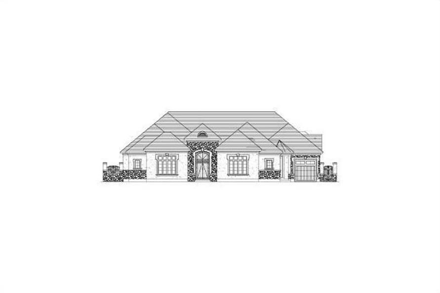 Main image for house plan # 15853