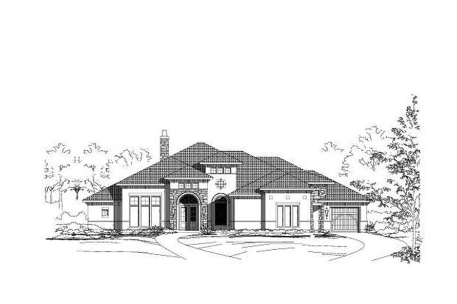 Main image for house plan # 15365