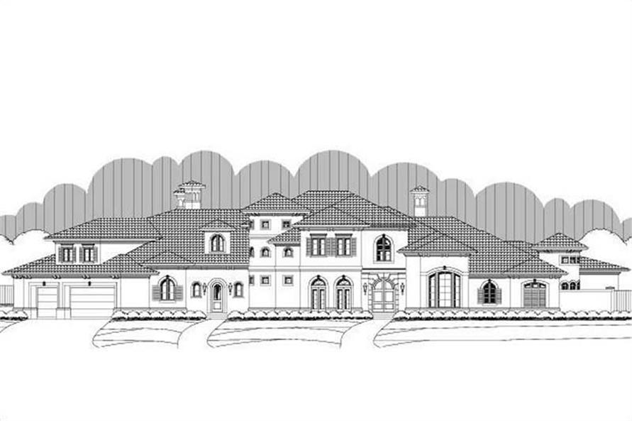 Main image for luxury house plans # 19724
