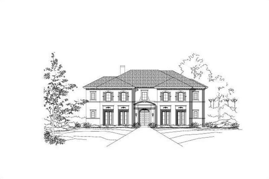 Main image for house plan # 15325