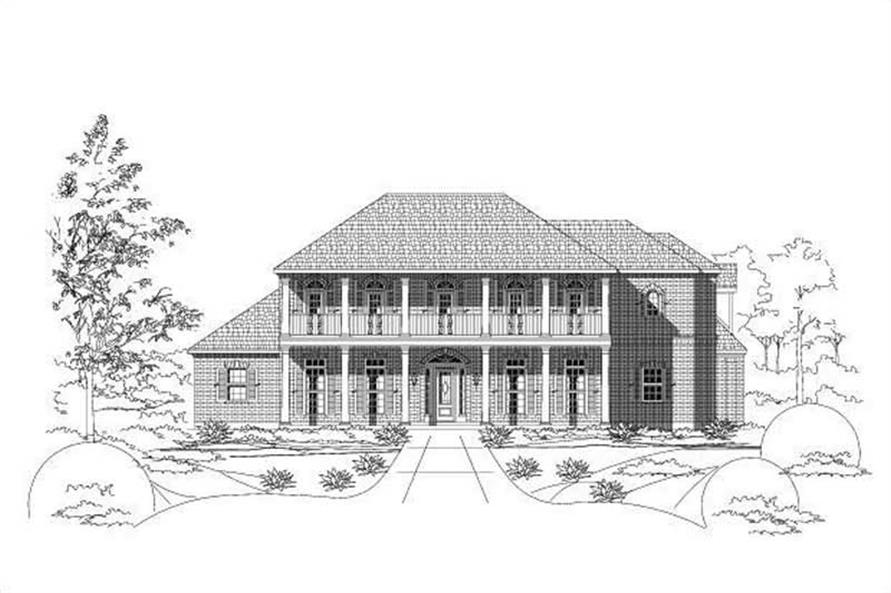 Main image for house plan # 15332