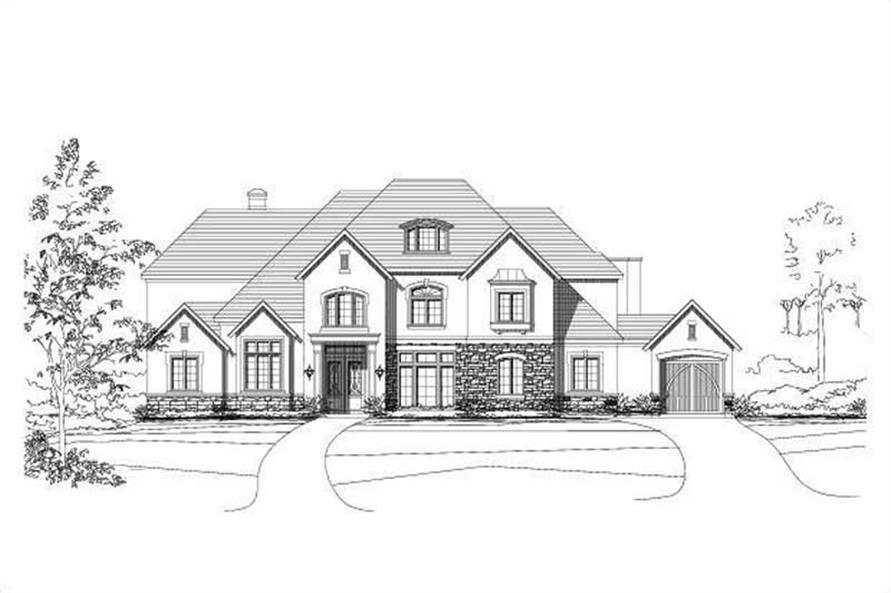 Main image for house plan # 15363