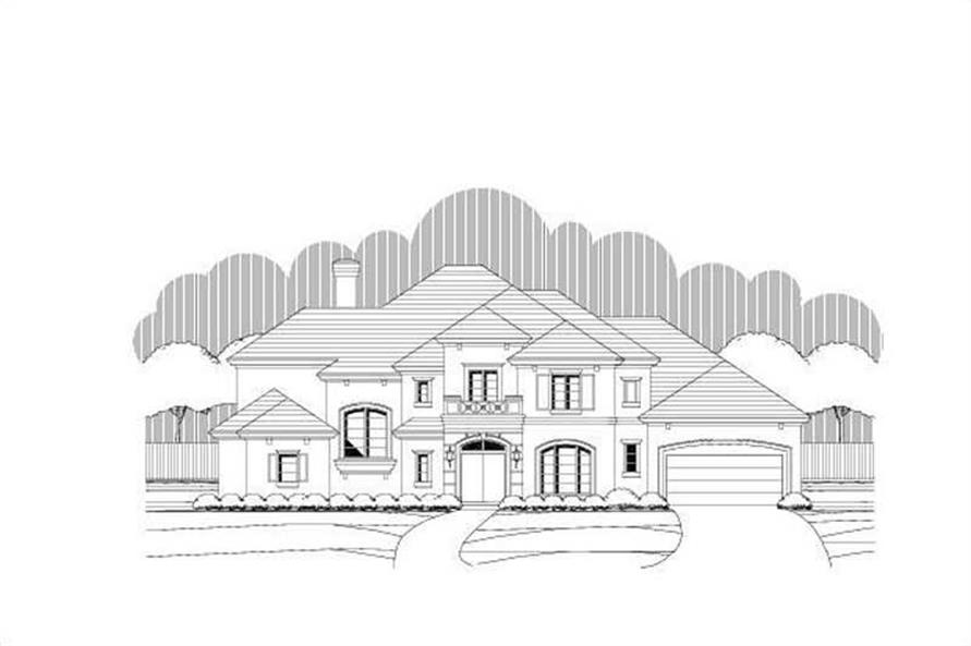 Main image for house plan # 19372